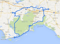 Bike Florida Route 2005