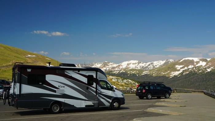 Alpine RV Parking