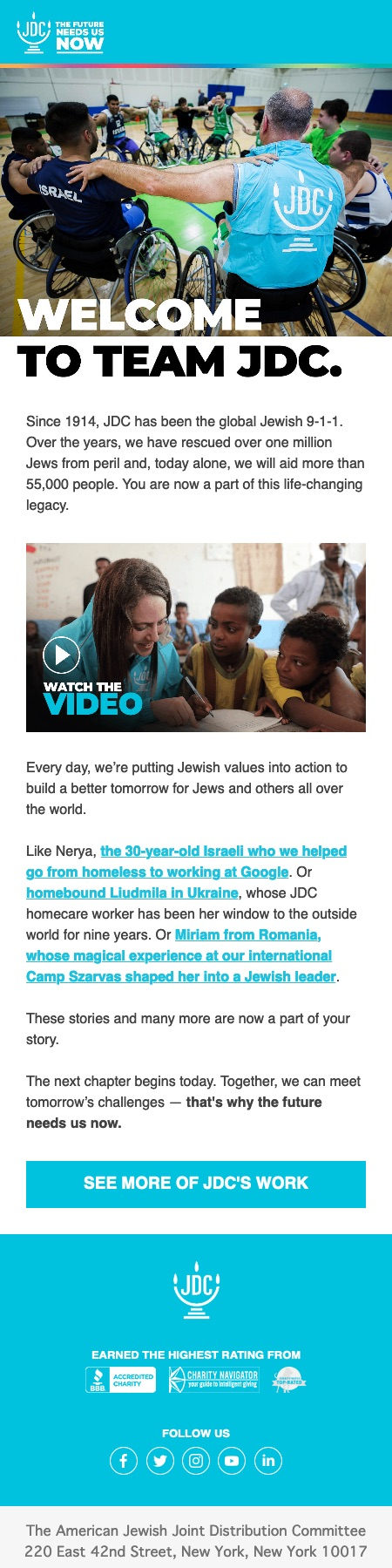 This is how you put Jewish values into action