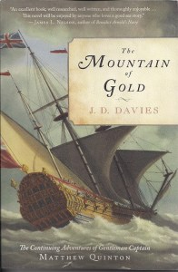 Richard Endsor's painting of the Lenox, used for the cover of the US editions of The Mountain of Gold