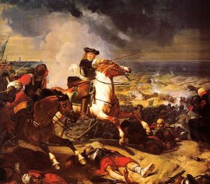 The Battle of the Dunes, by Lariviere