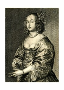 Mary Ruthven; engraving after the portrait of her by her husband