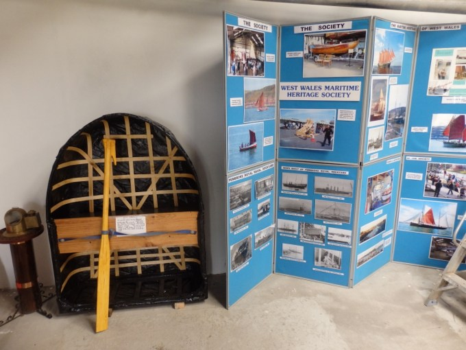 The centre's example of the coracle, the ancient Welsh vernacular craft