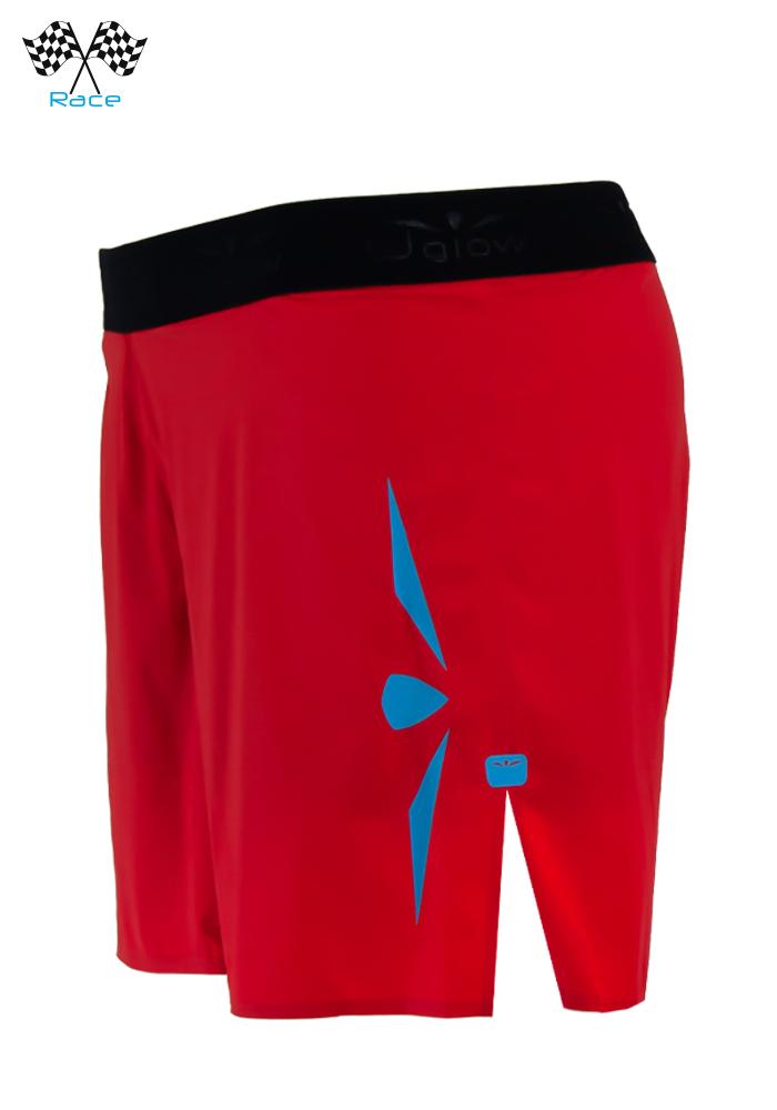 Short 5 Mujer Uglow Speed Aero 2en1 S4 Rojo/Azul