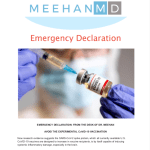 Dr. Meehan's Emergency Declaration: 'AVOID any CoVID-19 Vaccine'