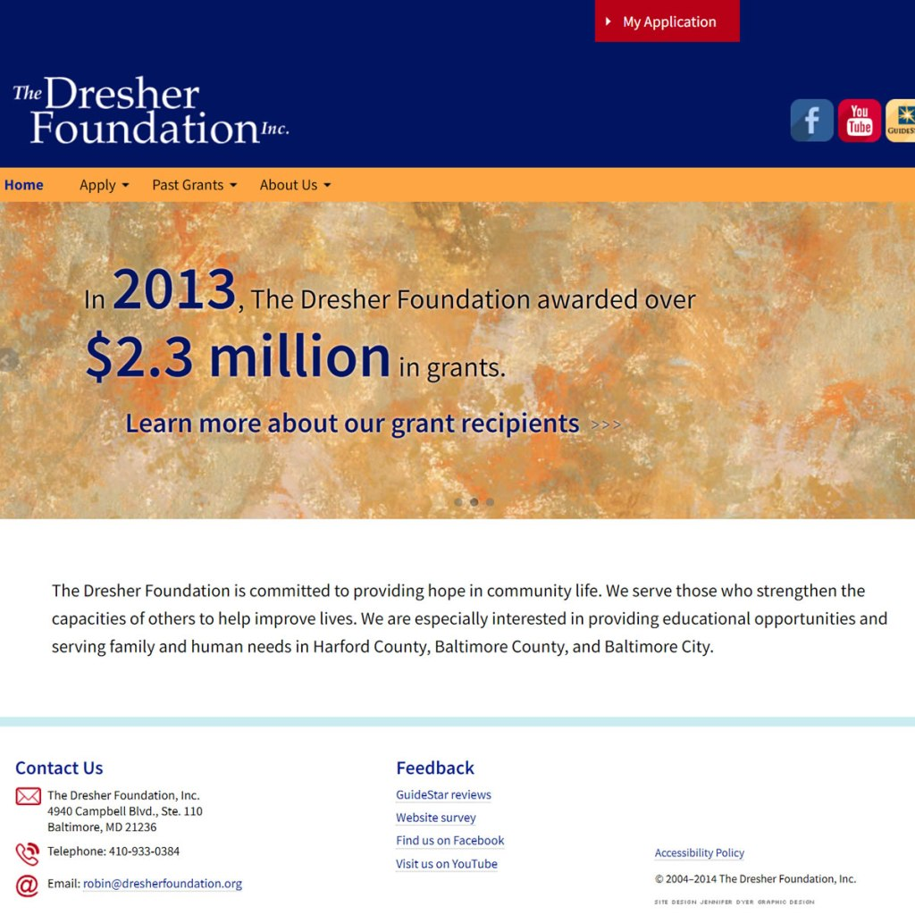 The Dresher Foundation Website