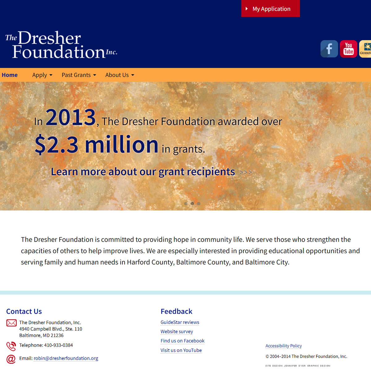 The Dresher Foundation Website