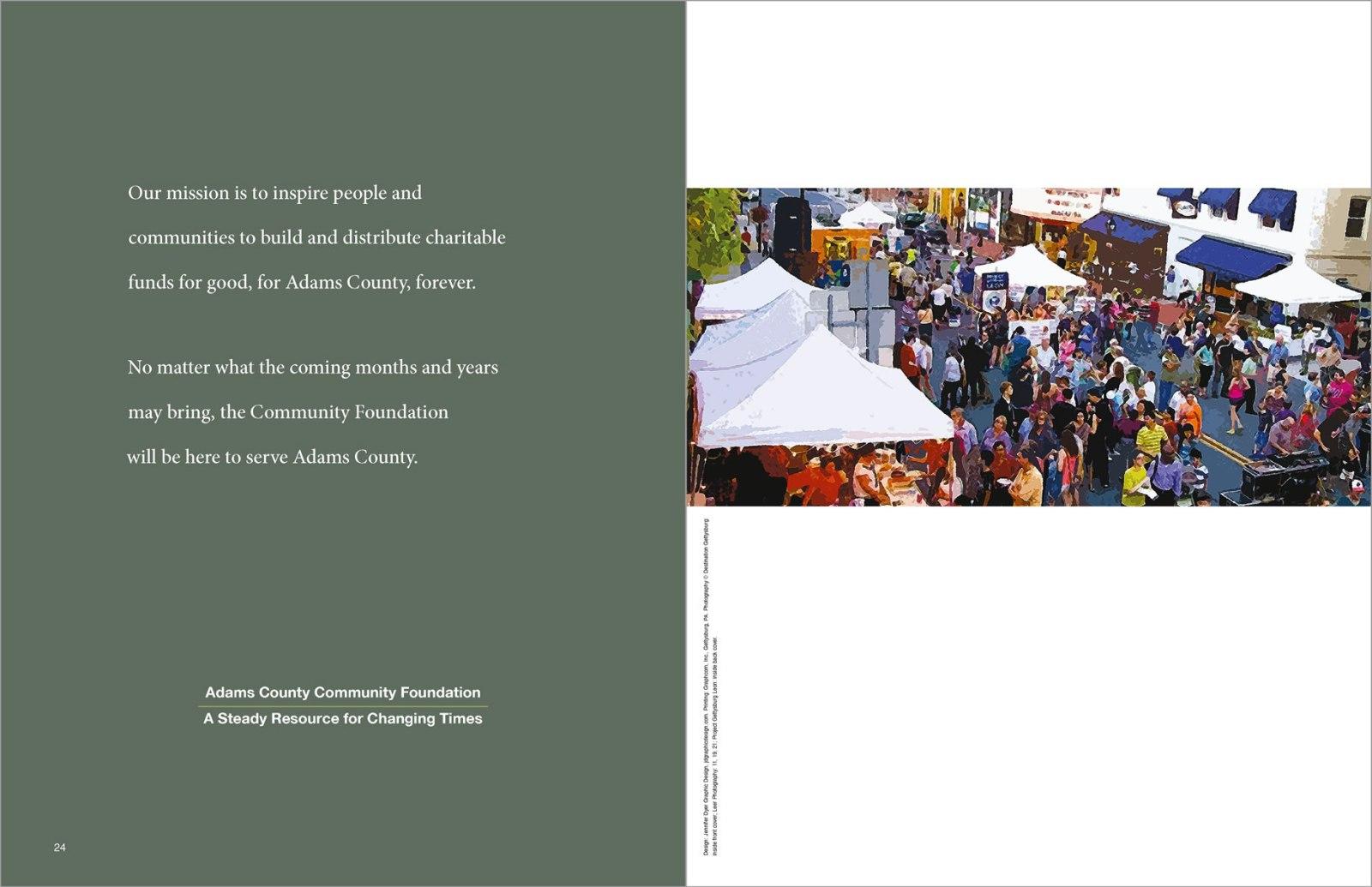 Adams County Community Foundation Annual Report 2020