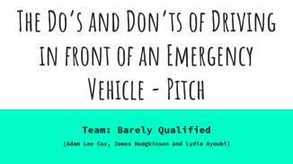 Emergency Vehicle Animation Pitch (1)
