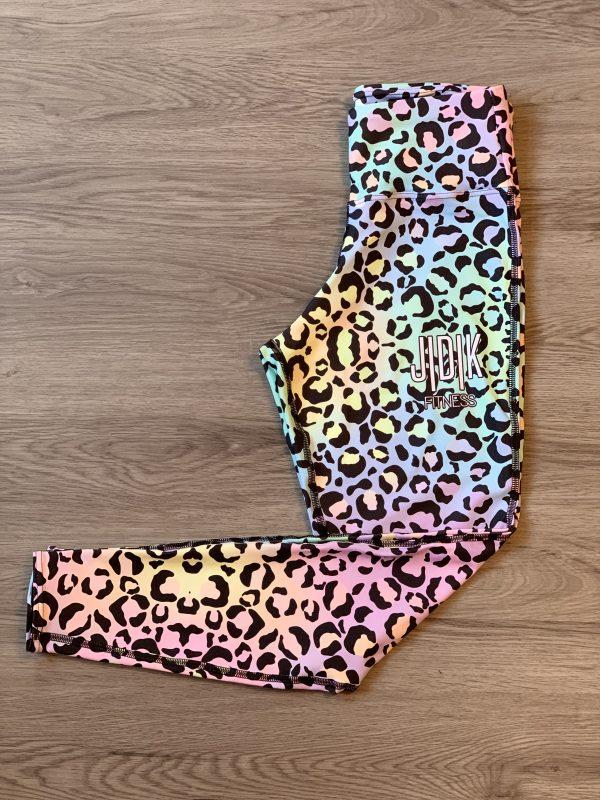 Pastel Leopard Leggings