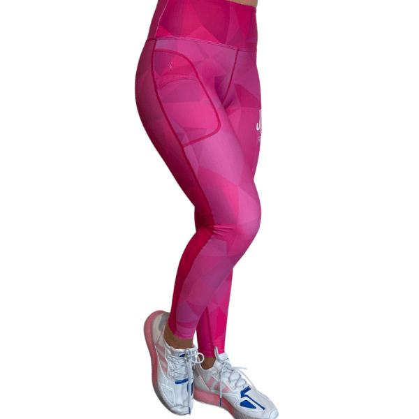Pink Crystal Leggings