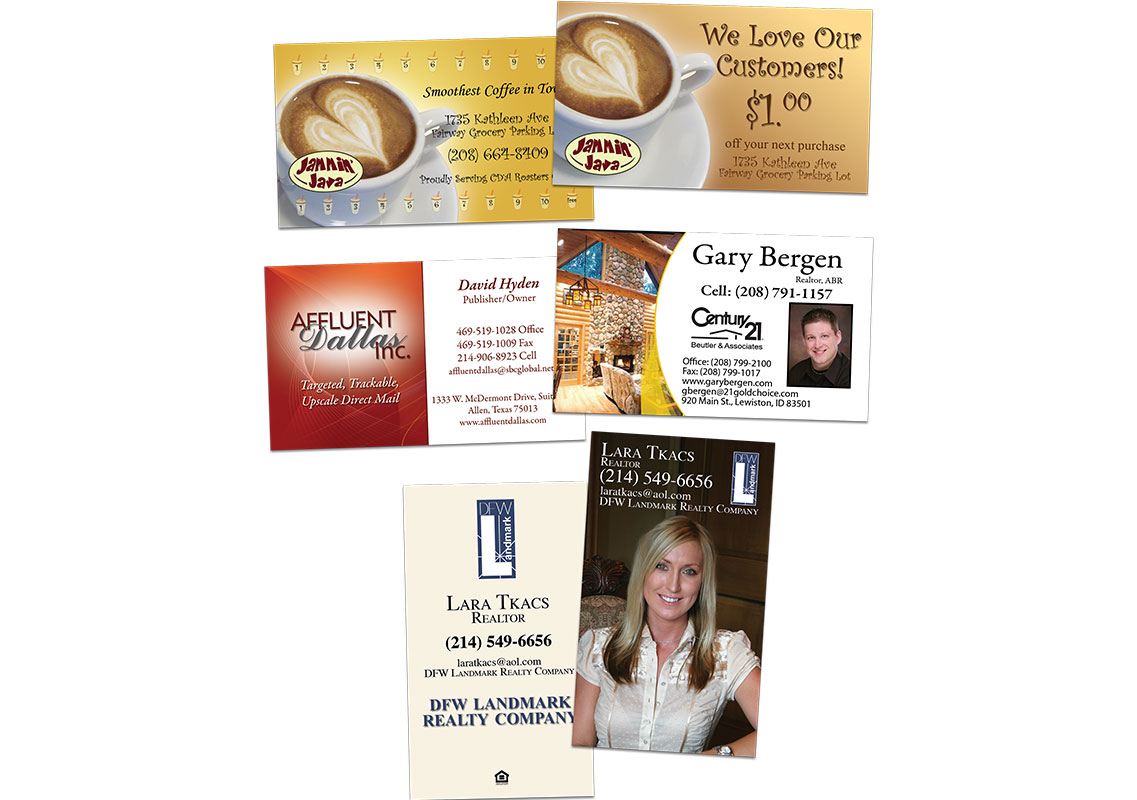 Business cards by JDL Designs