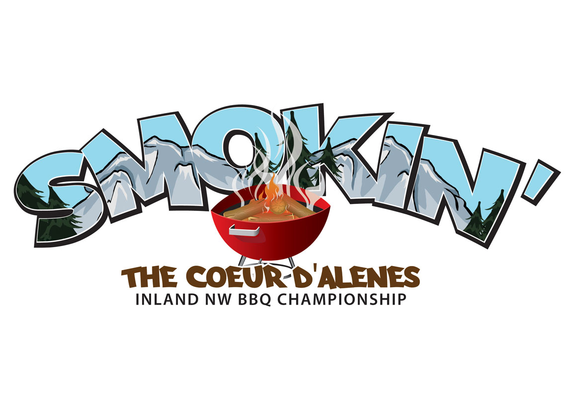 Logo design created for BBQ contest