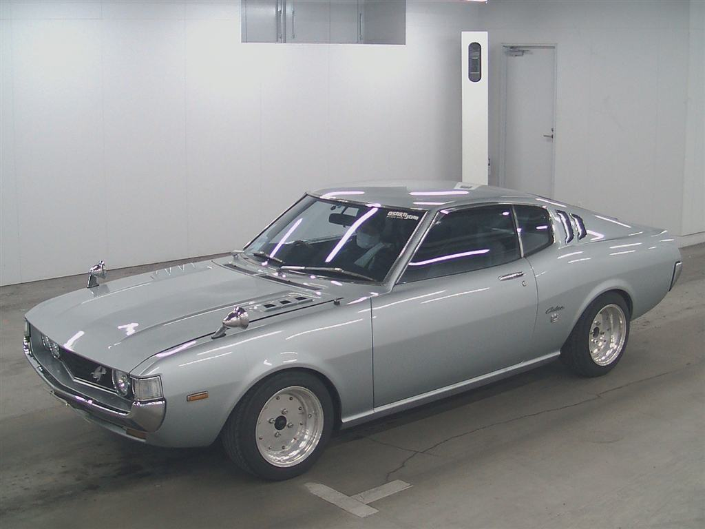 Old School Celica Toyota Classic Jdm Cars With Sale Price 1973 Gt Liftback Ra25 Front