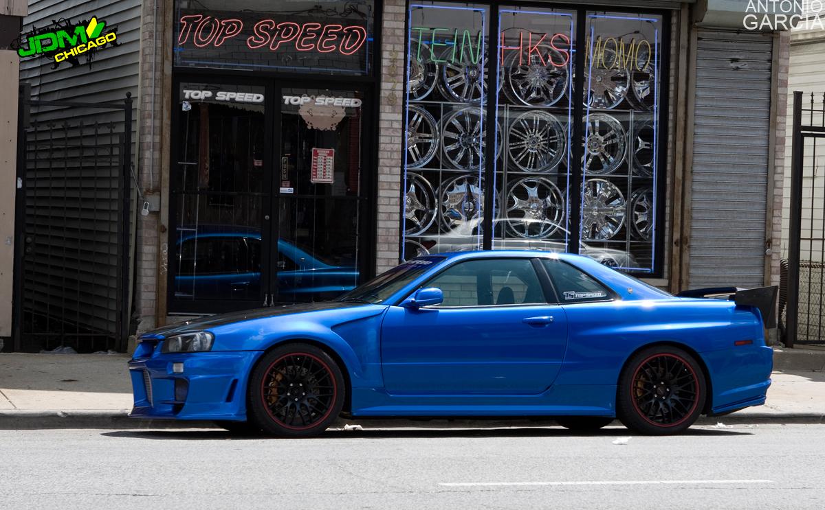 700HP, Top Speed Autosports Nissan Skyline R34 GT-R | 'N Street's