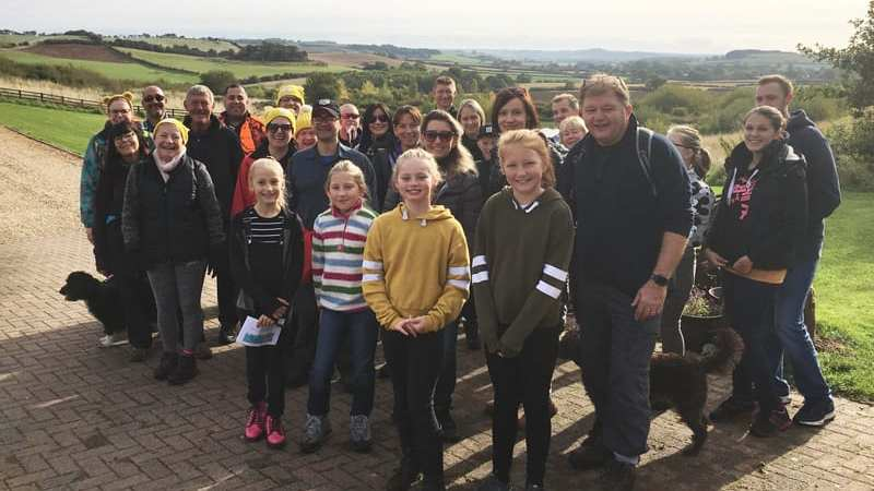 children in need JDM countryfile ramble