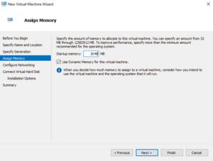 Creating first HyperV VM 04