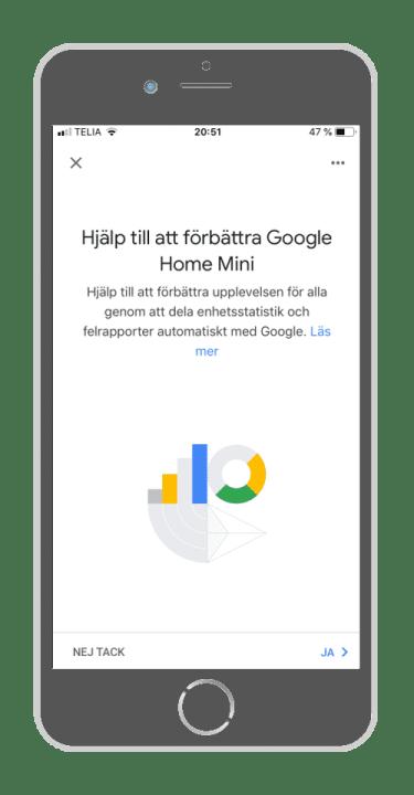 Google Home - Förbättra