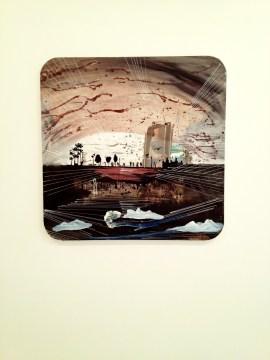 'Estanque', 2012 Técnica mixta sobre lienzo