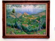 Sebastiá Junyer Vidal - Vista del poble de Dejá 1930