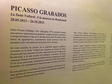 Picasso Grabados