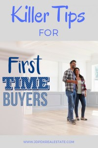 11 Tips For First Time Home Buyers