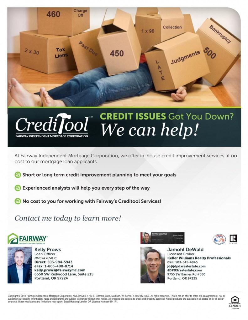 Fairway Mortgage Credit Tool