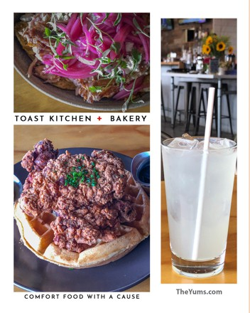 Comfort food at Toast Kitchen + Bakery