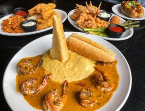 Cajun Creole Restaurant des Familles Crown Point Louisiana