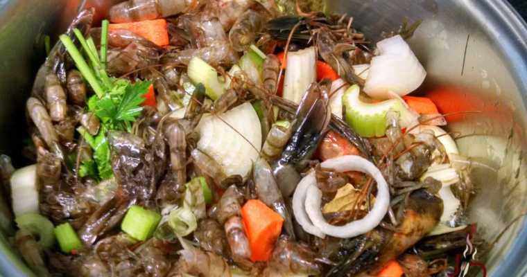 Caldo de camarão