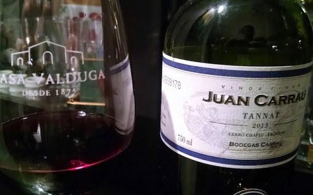 Vinho Juan Carrau Tannat, Um Legítimo Uruguaio