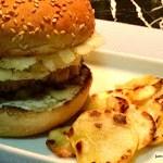 Um Hambúrguer de Porco para Animar seu Jantar a Dois