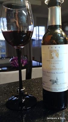 Vinho Bordeaux Virginie de Valandraud Safra 2006
