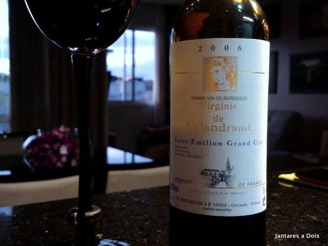 Vinho Bordeaux Virginie de Valandraud