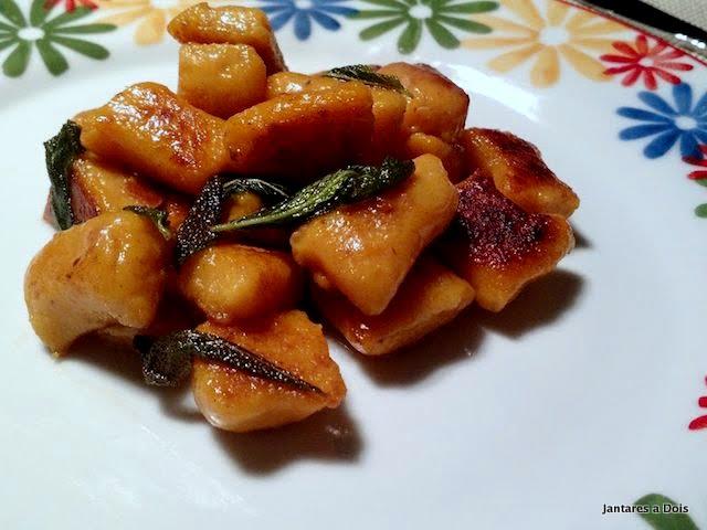 foto do nhoque de batata doce