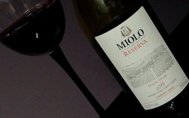 Pinot Noir Miolo, um Bom Vinho Brasileiro
