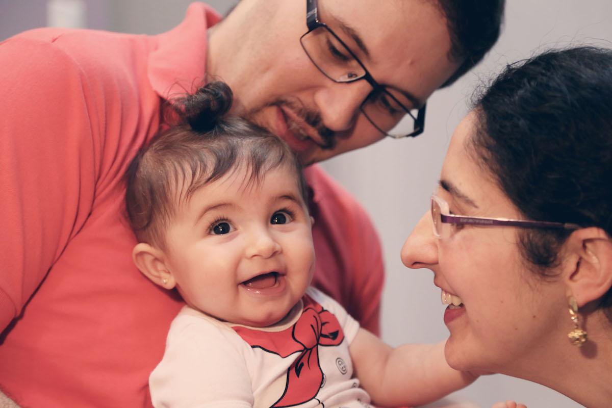 Rodrigo, Carol e Valentina