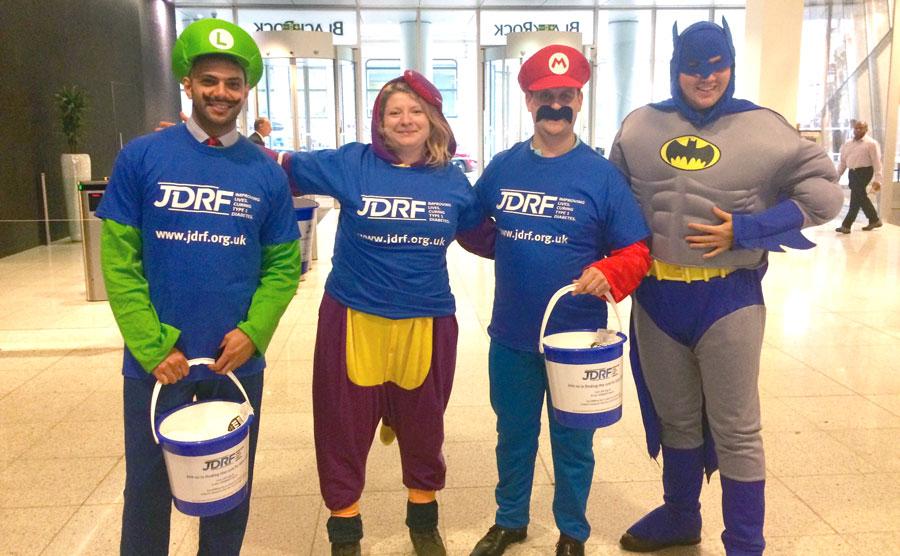 World Diabetes Day volunteers