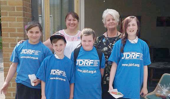 A group of JDRF supporters