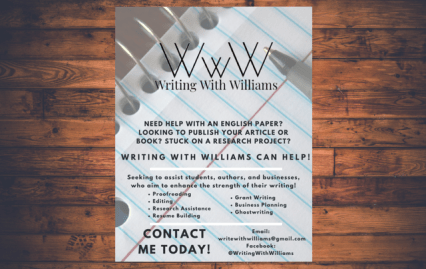 Writing With Williams Flyer