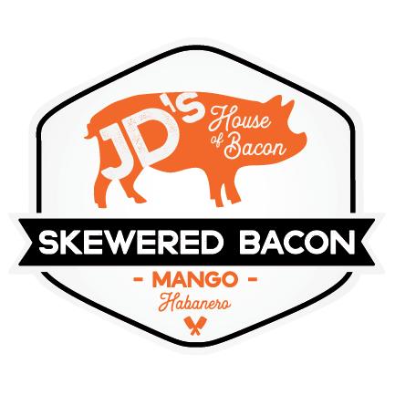Mango Habanero Skewered Bacon