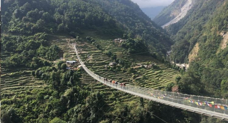 Puente tibetano Jinu
