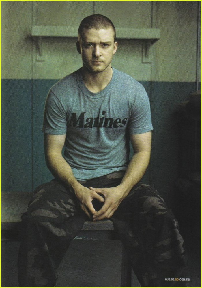Choice Hottie for September: Justin Timberlake (5/6)