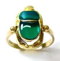 scarab ring - Egyptian magic