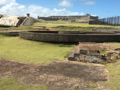 San Cristobal - a really cool fort with underground tunnels