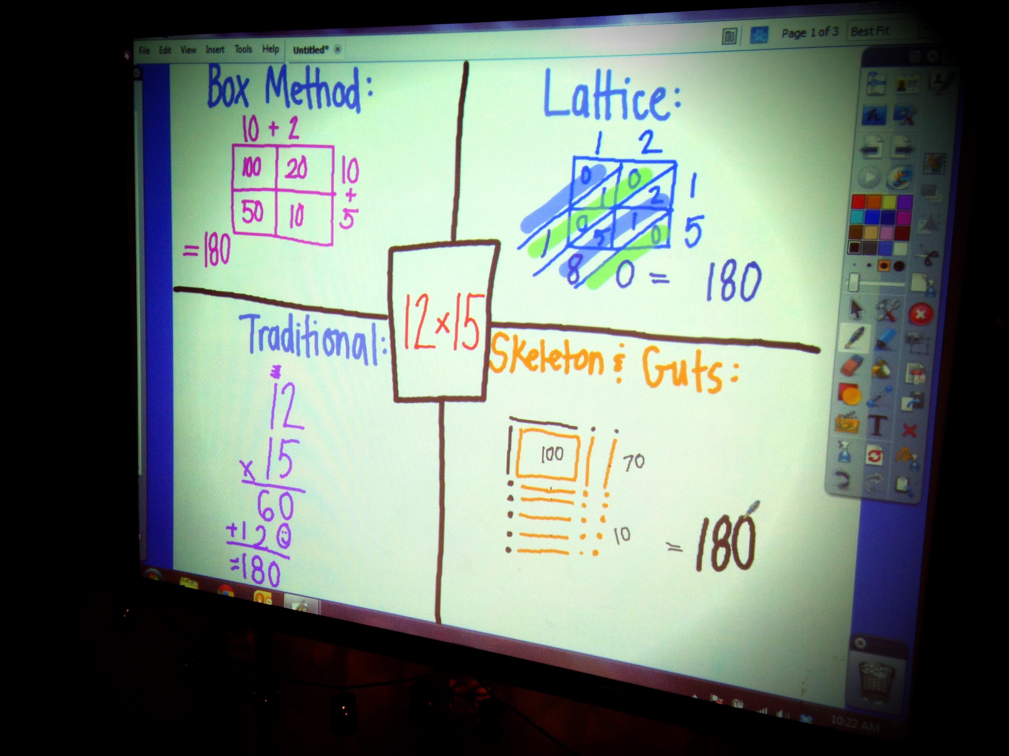 Multiplication Strategies For 5th Graders