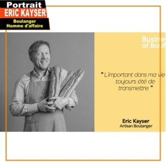 Eric Kayser la transmission