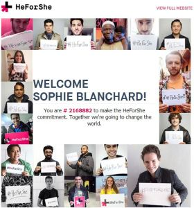 Figures inspirantes du féminisme - Emma Watson Engagement HeForShe