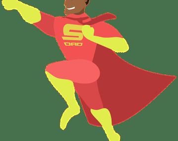 Histoire de congé parental – Un super papa