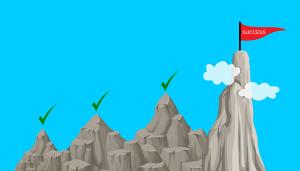L'échec, un pas de plus vers la réussite